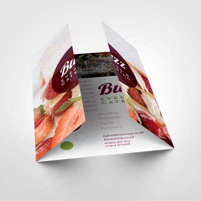 gatefold brochure
