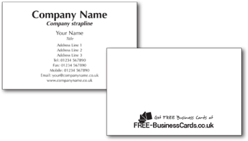 Customise your free business cards online fast delivery free free business cards reheart Gallery